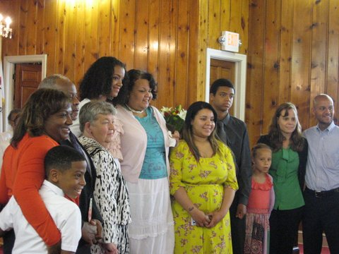 Maurita Bowie -- Locust United Methodist Church's 2013 Mother of the Year